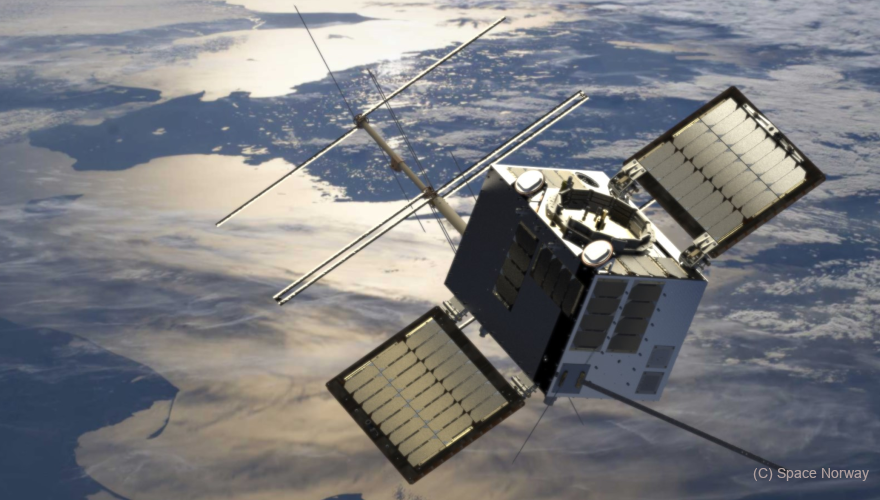 High-tech from the Netherlands hitch-hikes to space on Norwegian satellite